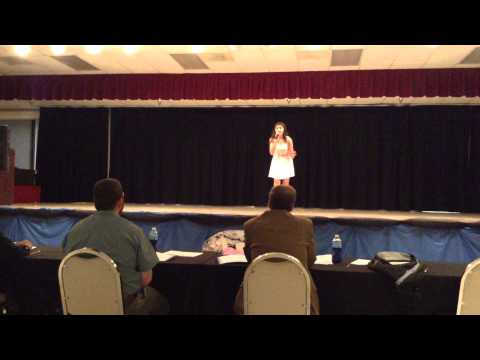Cassadee Pope Wasting All These Tears by 14 year old Kaylise Renay at talent show