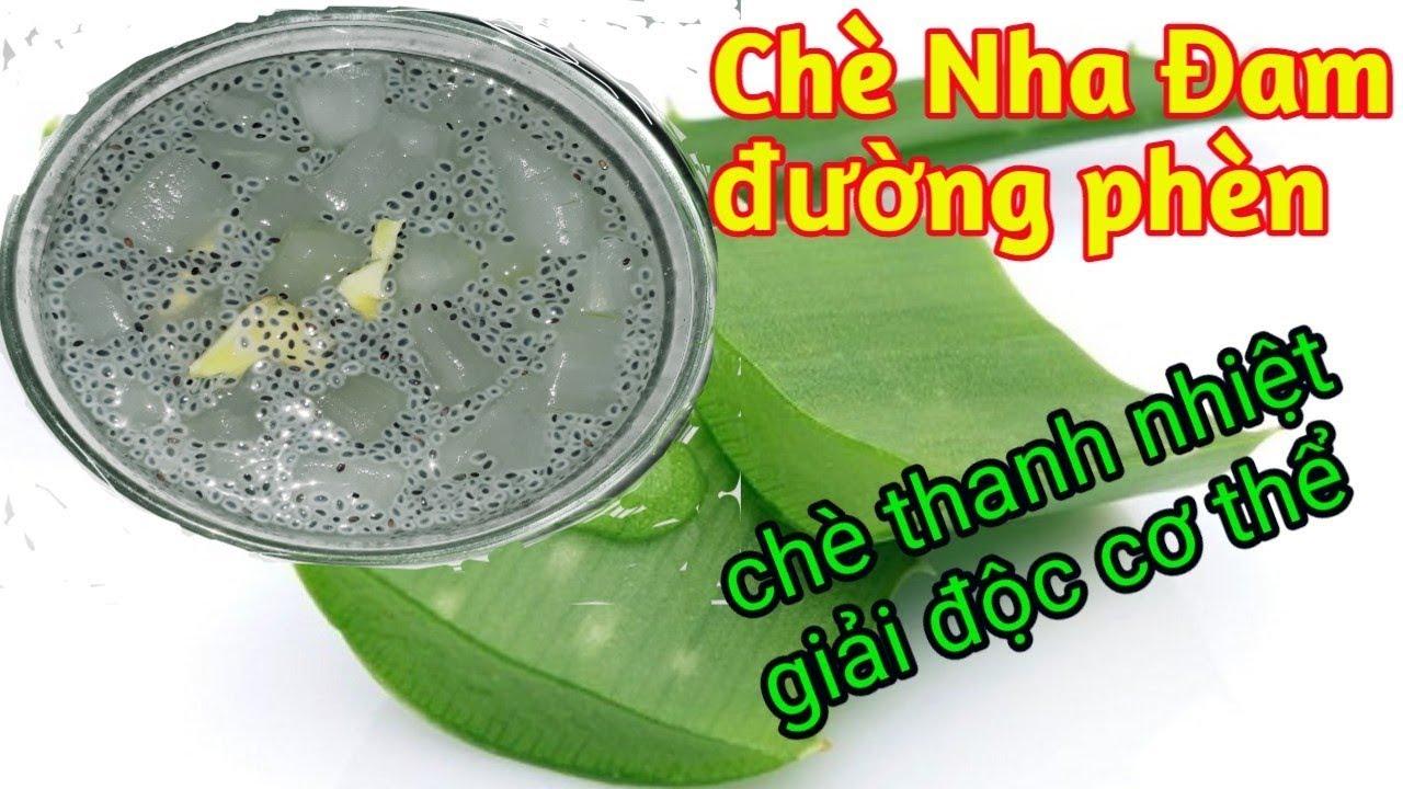 cách nấu chè NHA ĐAM Đường Phèn Giòn Ngon thanh nhiệt tại nhà -món ăn ngon by Hương