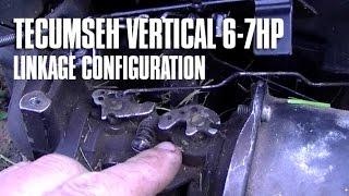 Linkage tecumseh throttle Tecumseh Carburetor