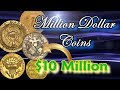 Million Dollar Coins Part 1: World's Most Valuable and Rare Coins Worth Millions