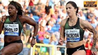 Women's 100m at Kamila Skolimowska Memorial 2018