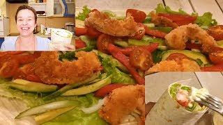 Рецепты в ПОСТ! Ролл-твистер с креветкой - это БОМБА! Shrimps roll