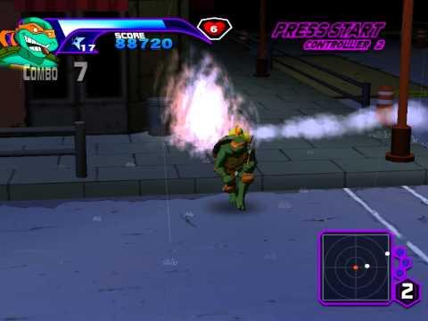 Teenage Mutant Ninja Turtles (2003) PC Gameplay (HD)