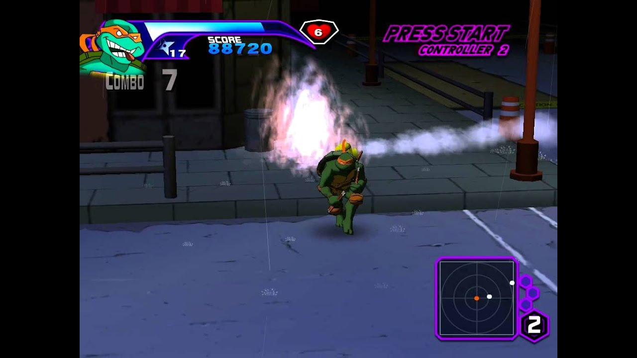 Teenage Mutant Ninja Turtles 2003 Pc Gameplay Hd Youtube