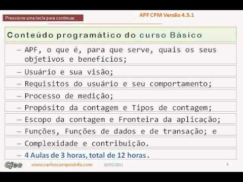 APF CJEC AP00A - Apresentação do curso de APF