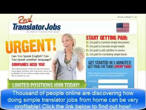 Real Translator Jobs Make Money Translating Today