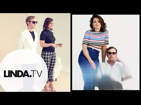Monic Hendrickx & Dave von Raven || Backstagevideo LINDA.164 || LINDA.tv
