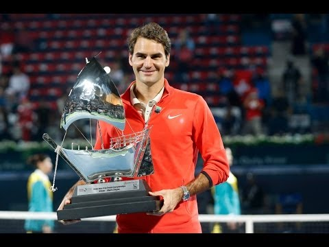 Roger Federer claims his sixth Dubai Duty Free Tennis Championships title