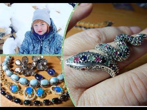 Marina Kindyakova. Women's jewelry. Silver 925 Thailand. Part 26