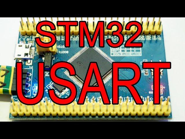 STM32 USART sending and receiving data - WildLab