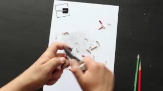 Урок рисования! Как точить карандаш правильно?