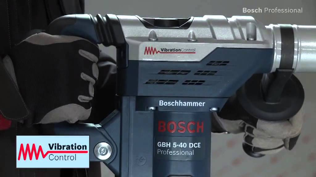 bosch gbh 5 40 dce professional rotary hammer with sds max youtube. Black Bedroom Furniture Sets. Home Design Ideas