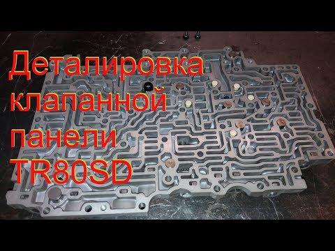 Фото к видео: Деталировка клапанной панели TR80SD Tuareg CJMA