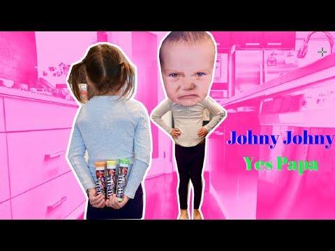 Johny Johny Yes Papa Nursery Rhyme Songs for Kids & Babies