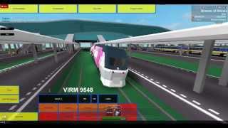 ROBLOX NS Amsterdam-Utrecht Line. OV-chipkaart VIRM review.