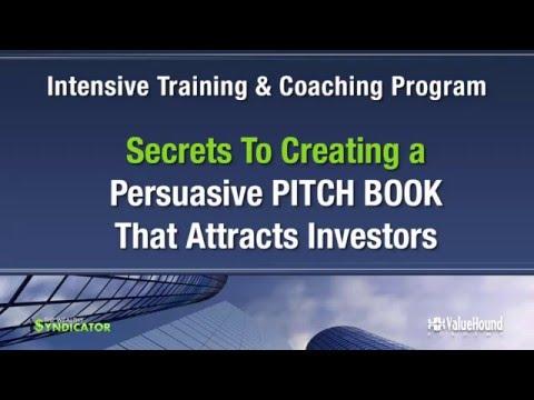 Pitch Book Program Details