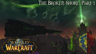World of Warcraft (Longplay/Lore) - 394: The Broken Shore - Part 1 (Legion)