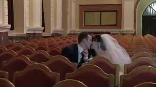 Свадебный клип Алёны и Славы. Видео Сумы Свадьба Зима Украина 2015
