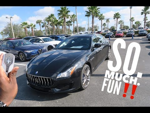 THIS is the Maserati Quattroporte S Gransport TEST DRIVE!