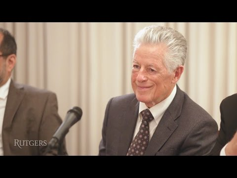 NJ Gov. Florio Administration: Environmental/Energy Programs & Policies (2016 Forum)