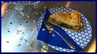Gedeckter Apfelkuchen - Klassischer Apfelkuchen mit Mürbeteig und Rosinen - Kuchenfee
