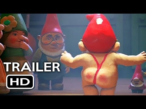 Thumbnail: Sherlock Gnomes Official Trailer #1 (2018) Johnny Depp, Emily Blunt Animated Movie HD