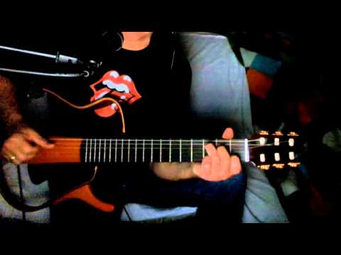 Lady Jane ~ The Rolling Stones ~ Acoustic Cover w/ Yamaha Silent Guitar Nylon Strings ~ Redo