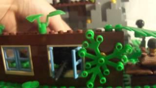 видео: База военных из лего