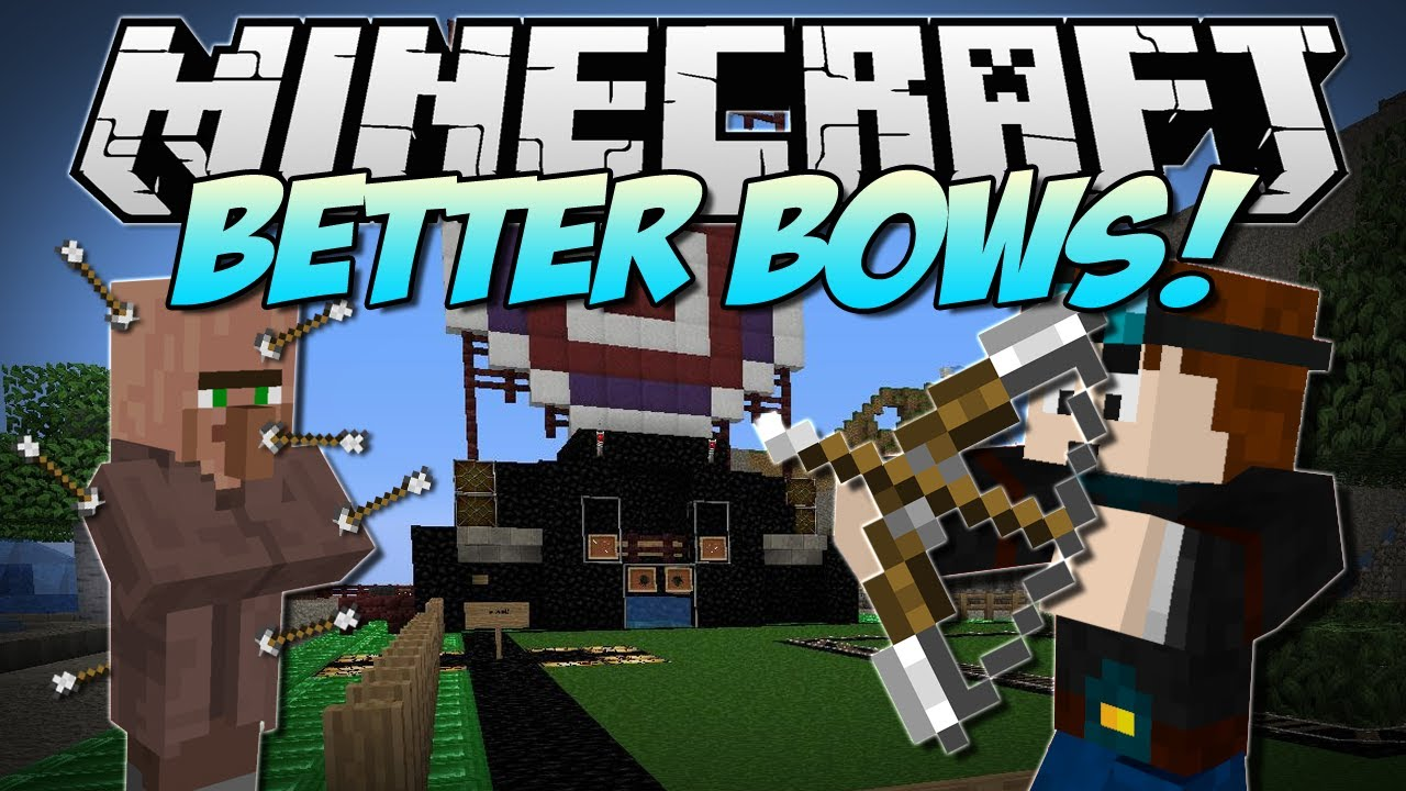 minecraft better bows revamped bows amp amazing arrows