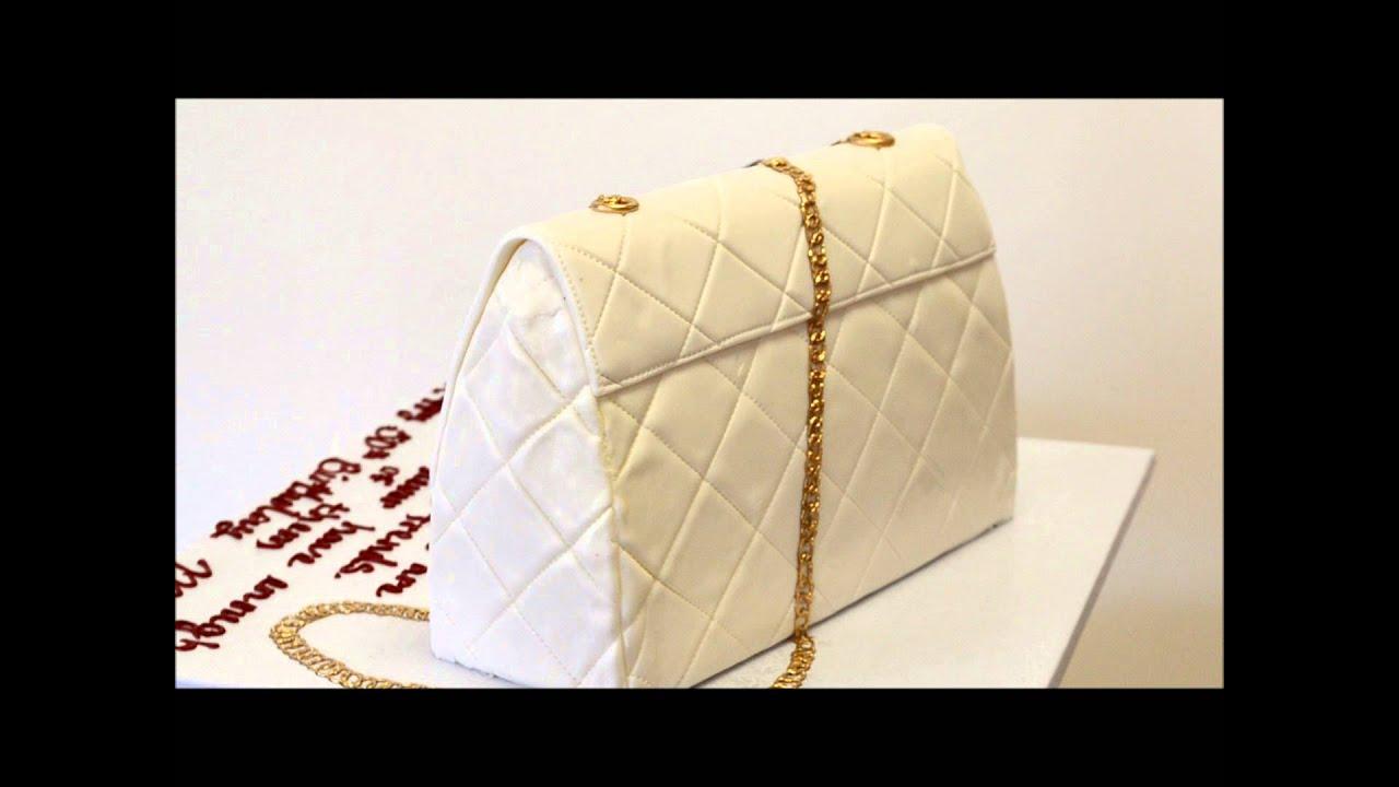 Custom Purse Cake Purse Shoe Cake Birthday Cake Youtube