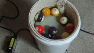 How To Make A Pool Table Ball Polisher