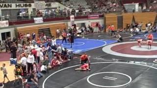 Cameron Fowler-Eagle Talon Wrestling 2009 Season