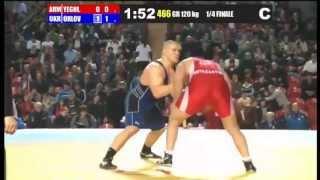 120 kg Yeghiazaryan (ARM) - Orlov (UKR) Quarterfinal
