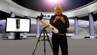 CASSINI C-80 EFS REFLECTOR TELESCOPE INSTRUCTIONAL VIDEO