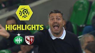 AS Saint-Etienne - FC Metz (3-1) - Highlights - (ASSE - FCM) / 2017-18
