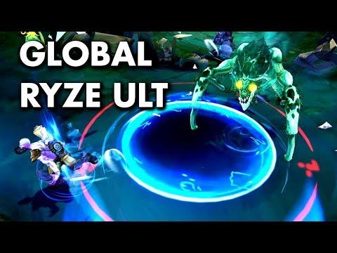 GLOBAL RYZE ULT?! How to do? (Ryze Bug)