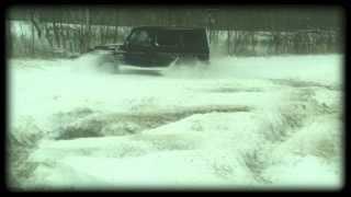 Гелендваген ездит по снегу Гелик как танк