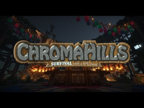 Chroma Hills | Factions - 100K Custom Biome World - Custom Dungeons - Custom Loot & more! Trailer