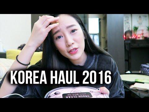 小小韓國戰利品分享 | Korea Haul 2016