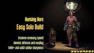 MHW: Hunting Horn - Easy Solo Build