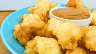 Knusprige Chicken Nuggets mit Süßsauer Sauce
