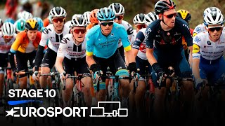 Giro d'Italia 2020 - Stage 10 Highlights | Cycling | Eurosport