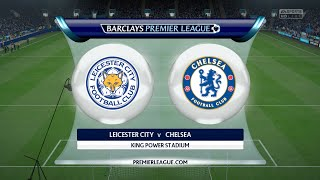 Check out this brand new gameplay of the premier league in fifa 16 on ps4. leicester city take chelsea at king power stadium!► click here to subscribe...