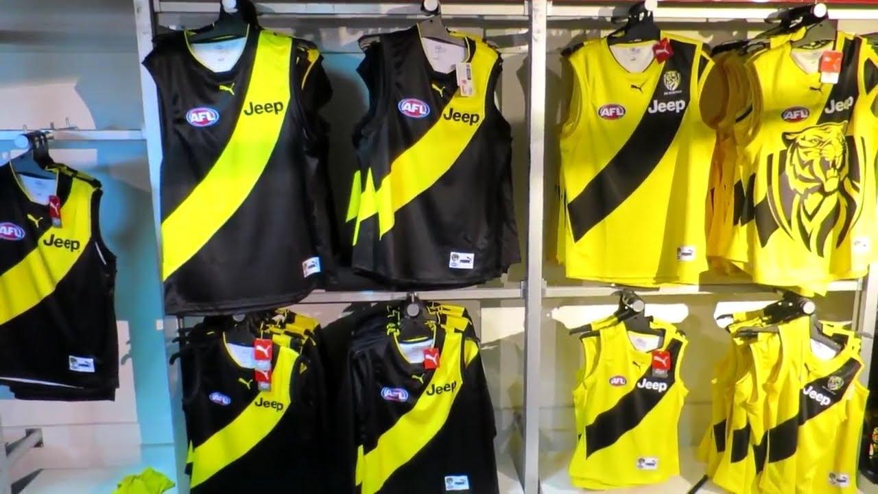 Tigerland Superstore - Richmond's merchandise shop at Punt Road