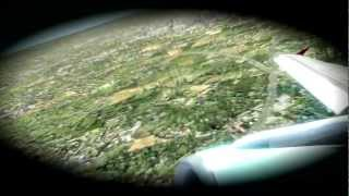 FS2004 - Austrian Airlines Take off - HD