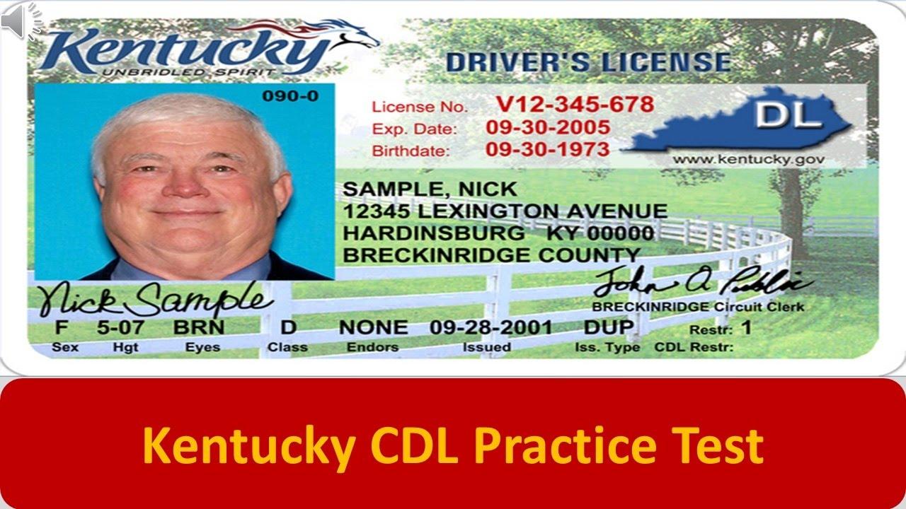 Kentucky CDL Practice Test - YouTube