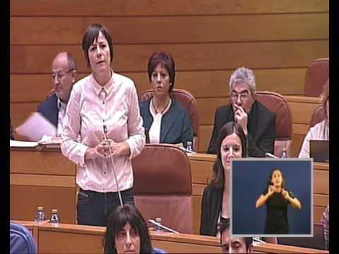 """Ana Pontón: """"Feijóo é o rei do eufemismo e das traicións a Galiza"""""""