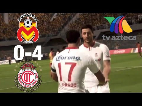Gol de L. Mendoza | Toluca 0 - 1 Morelia | Apertura 2019 - Jornada 9 | Liga BBVA MX from YouTube · Duration:  36 seconds