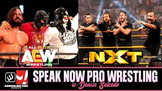 Breaking Down This Week's AEW DYNAMITE & WWE NXT! | Speak Now Pro Wrestling w/ Denise Salcedo Ep. 9