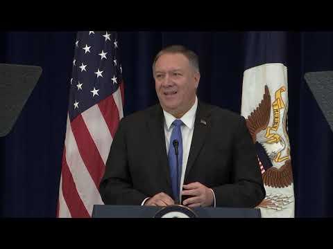 Human Rights And The Iranian Regime: Secretary Pompeo's Speech On Iran